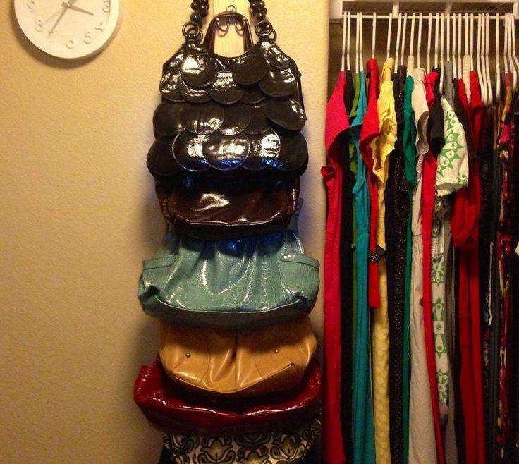 Astounding How To Organize Pocketbooks Of Bedroom Organization Ideas | Decorating Ideas |