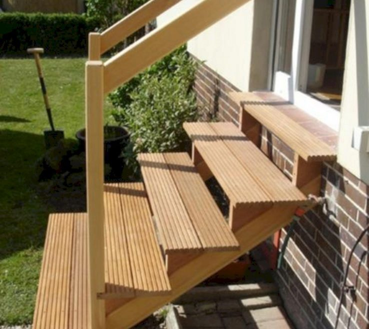 Astounding Outdoor Stairs Ideas Of Nice Amazing 30 Unique Wooden That Will