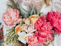 Peony Flower Arrangement Ideas