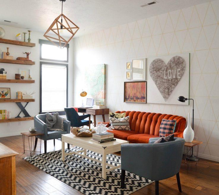 Astounding Retro Decorating Ideas Of Living Room Creative Decor Simple Tips Make