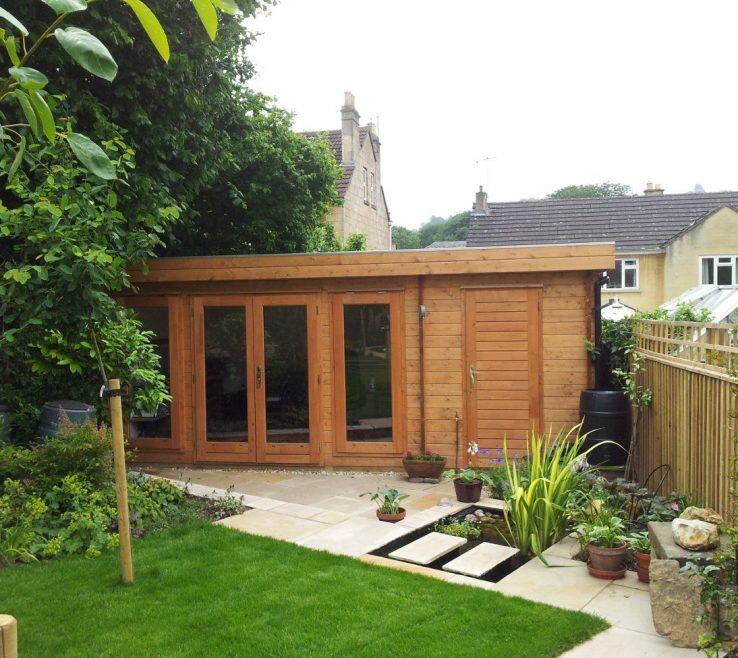 Astounding Summer E Garden Room Of This Versatile Log Cabin Incorporates A