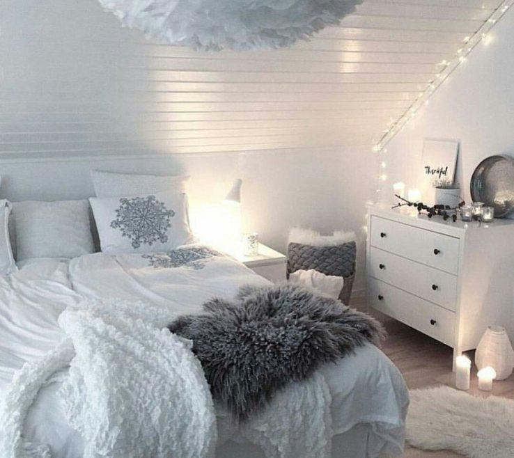 Astounding Teen Bedroom Colors Of Cozy Bedroom, Inspo Grey, Decor Teen, Attic