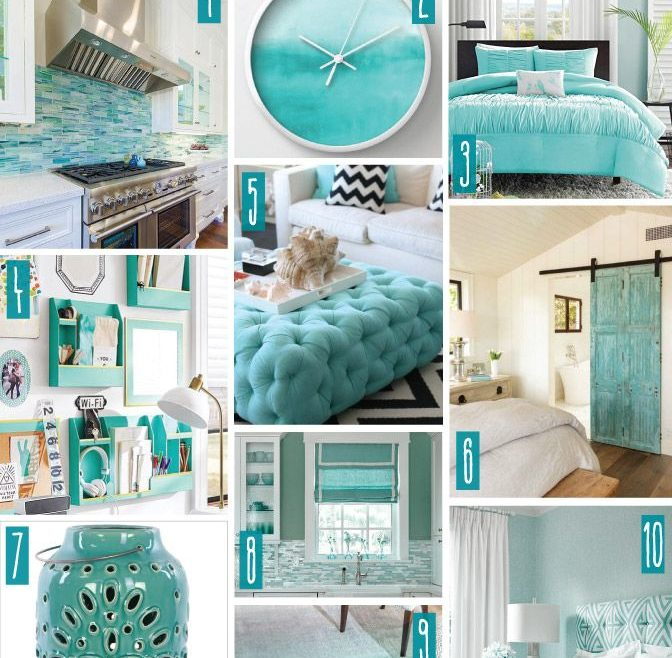 Astounding Turquoise Blue Bedroom Designs Of Color Series; Decorating With Turquoise. Turquoise, Teal,