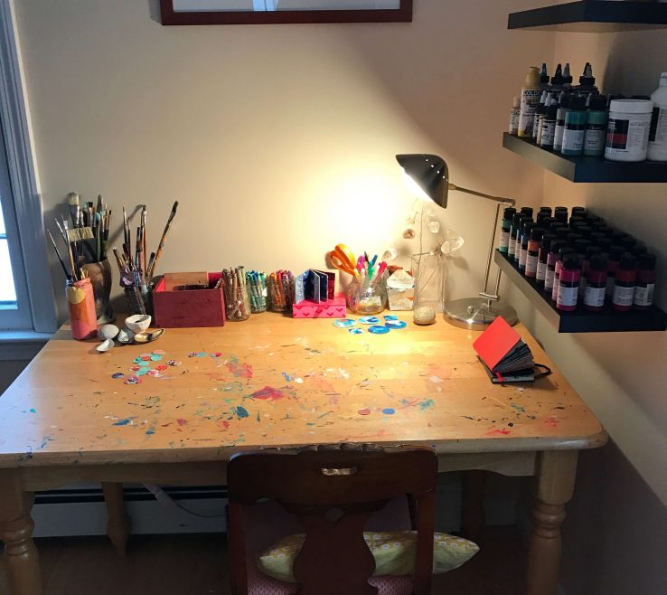 Attractive Art Studio Ideas Of Tour, At Home, Ideas, Inspiration