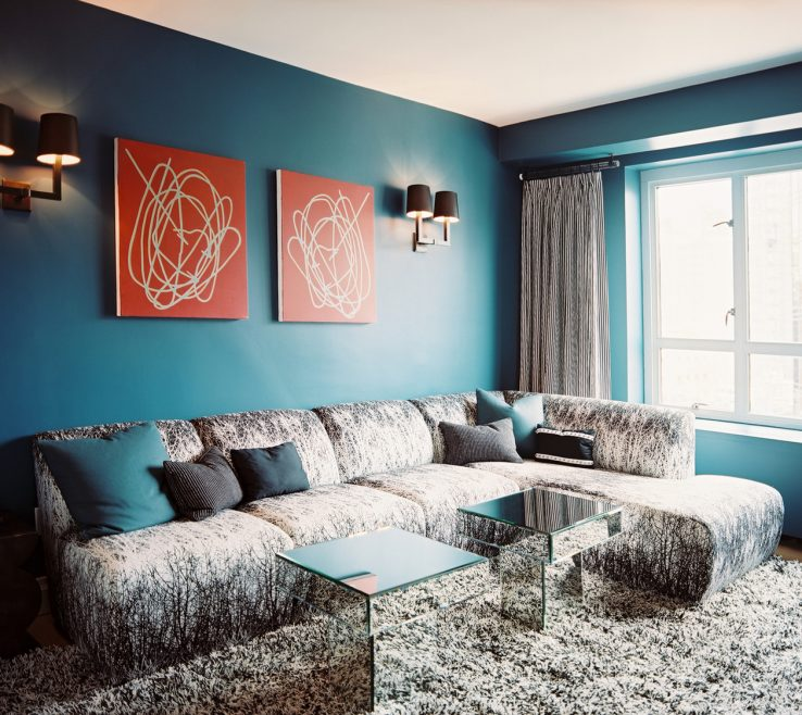 Attractive Blue Gray Decor