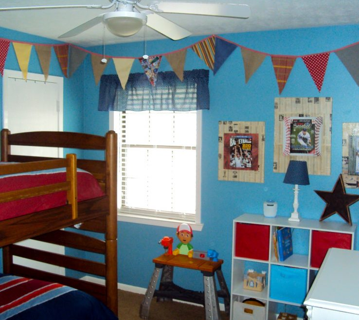 Attractive Boys Room Sports Theme Of The Are Super Thrilled About Their New Bunk