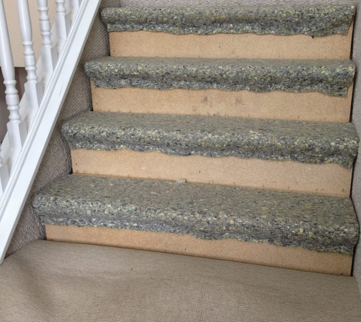 Attractive Cheap Stair Tread Ideas Of Removing Carpet From The Stairs The Serene