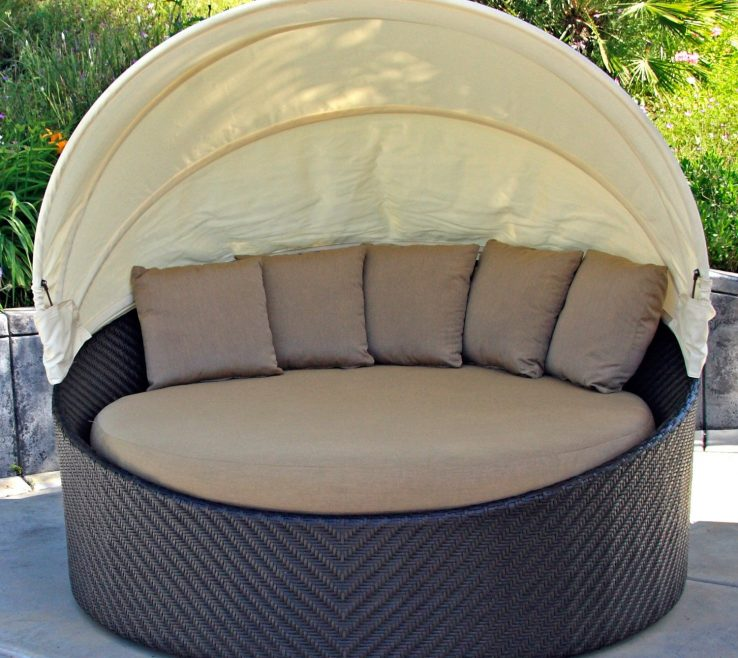 Attractive Diy Outdoor Daybed With Canopy Of Outside Daybeds | | Couch
