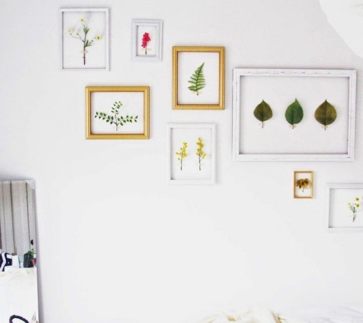 Attractive Framed Objects Wall Art Of Diy Room Decor: The 10 Best Found