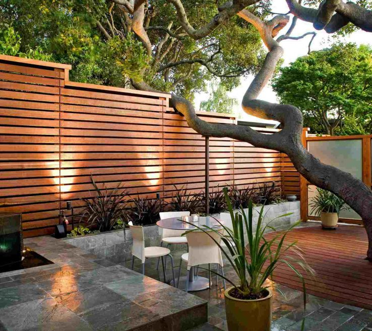 Attractive Ideas For Yard Privacy