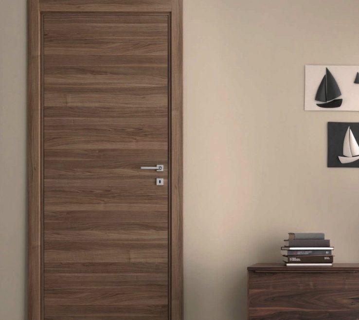 Attractive Interior E Doors Designs Of Natural Veneered Wooden H Door Design Mdf