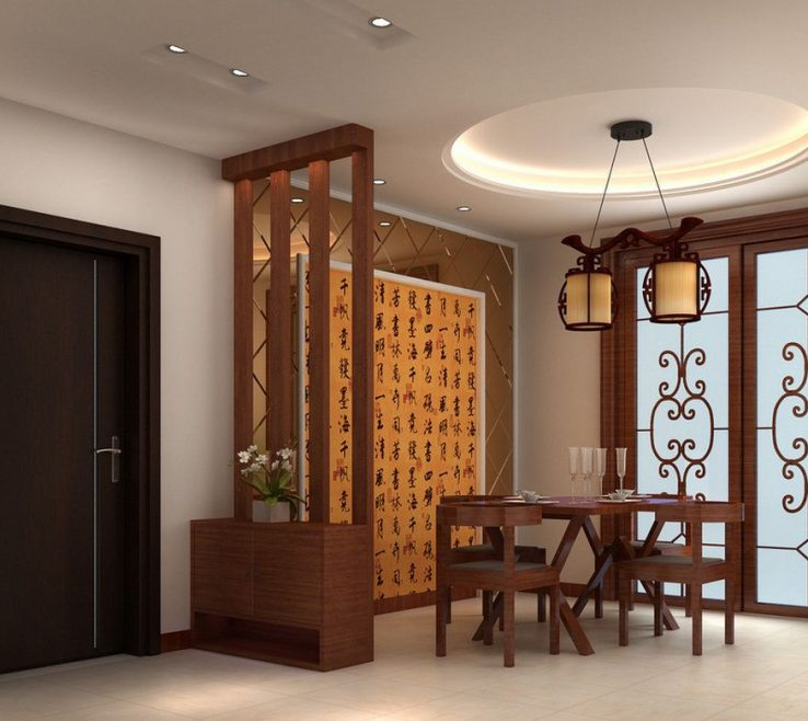 Attractive Interior Partition Wall Ideas Of Wooden Designs Between Living Dining Google