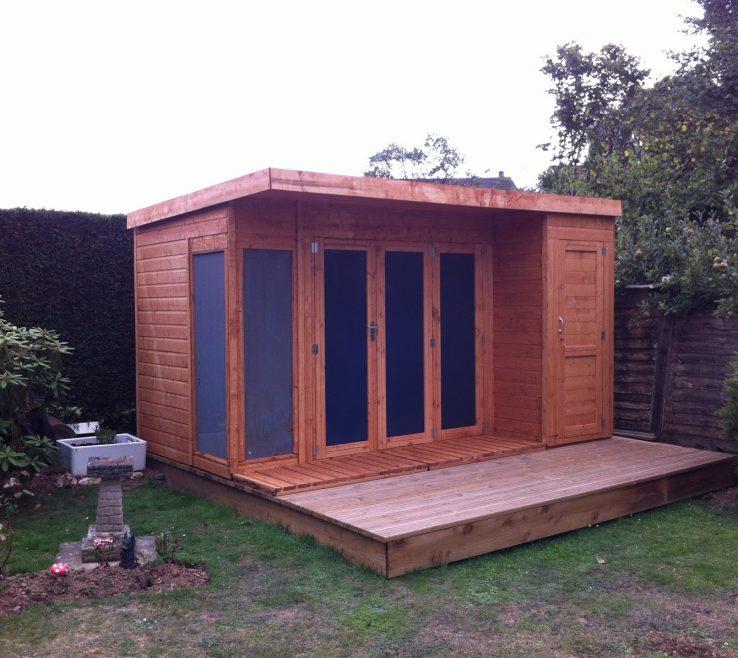 Attractive Summer E Garden Room Of The Contemporary E