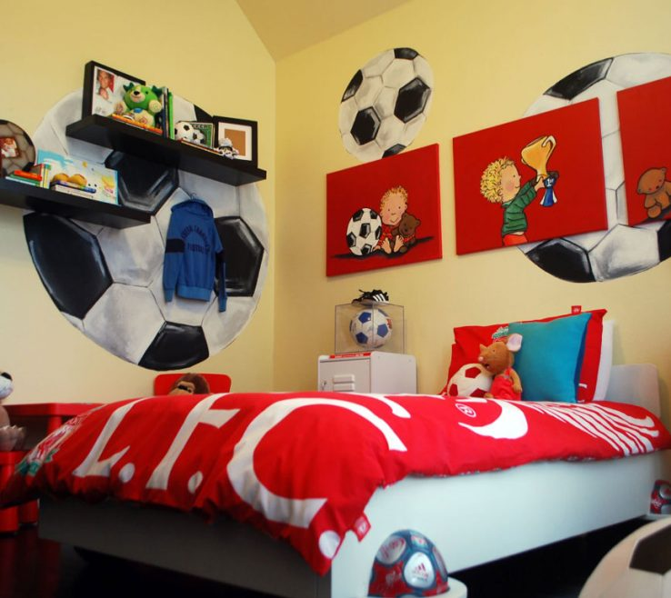 Awesome Boys Room Sports Theme Of Really Fun Themed Bedroom Ideas Sebring