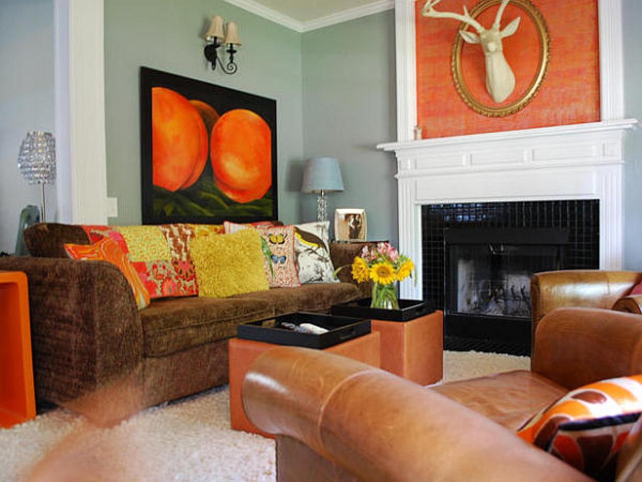 Curtains With Orange Walls - ACNN DECOR