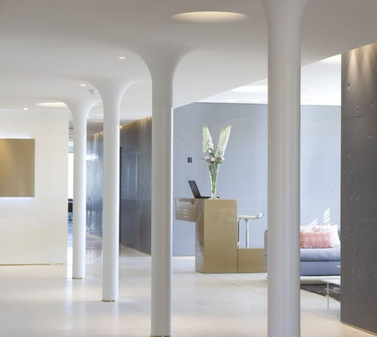 Awesome Interior Column Designs Of Haptic Architects: October 2010 Architectural Columns, Columns,