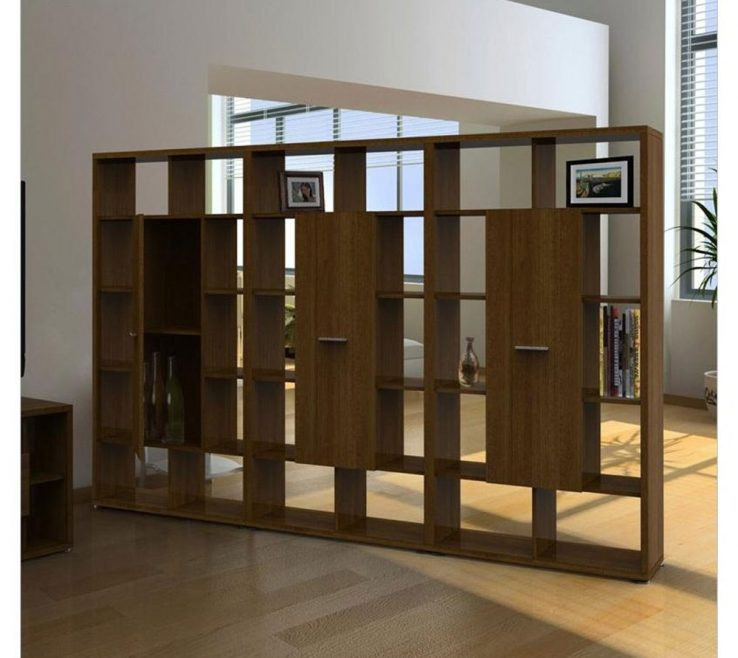 Awesome Room Dividers Of Office Shelves