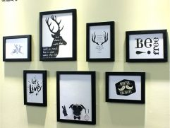 Wall Picture Frames Layout