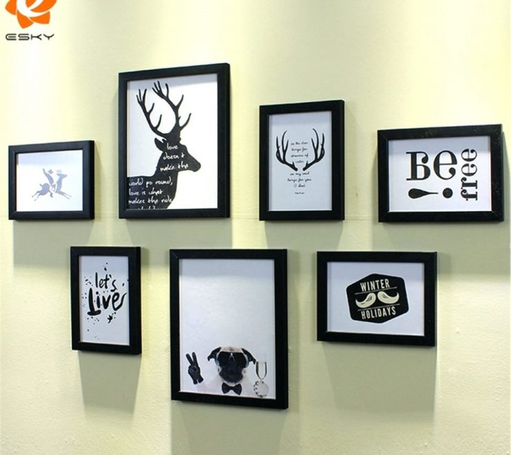 Awesome Wall Picture Frames Layout Of Ture Frame Collage Ideas Modern Best Large