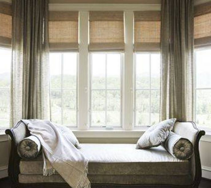 Bay Window Furniture Of Fine Grey Seating Design Inspiration With Day