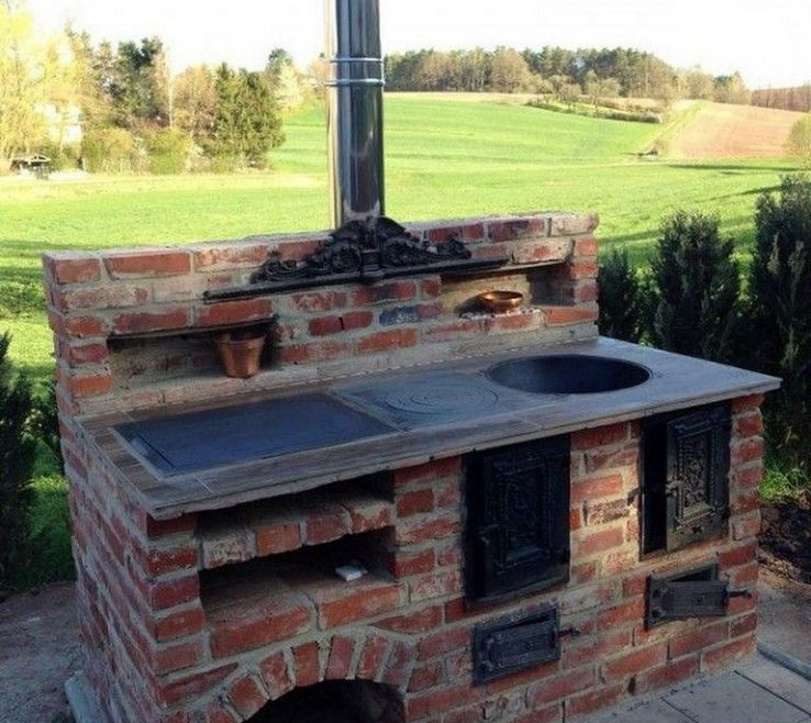 Beautiful Bbq Grill Design Ideas Of 60 Awesome For Your Patio #outdoor #patioideas