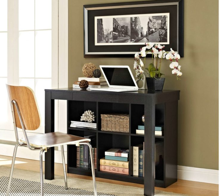 Beautiful Built In Desk Ideas For Small Spaces Of With Bookcase