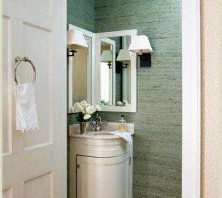 "Beautiful Corner Sink Vanity Of Bathroom:bathroom Sinks Inspiring 24"" Cottage Style Thomasville"