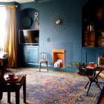Beautiful Dark Green Living Room Of Valspar Sherwood Forest Storybook Sundown And Gentle