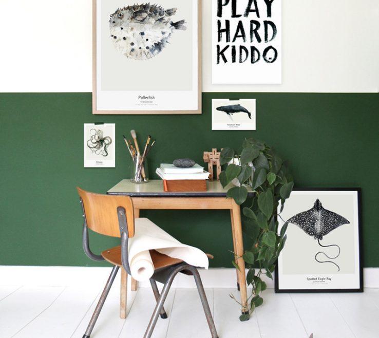 Beautiful Decorating In Green Of