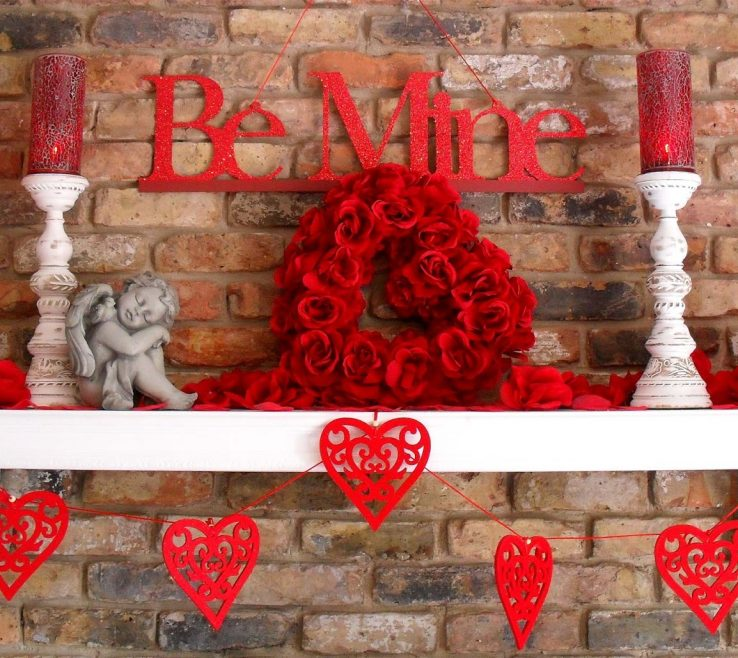 Beautiful Heart Decorations Home Of Valentine