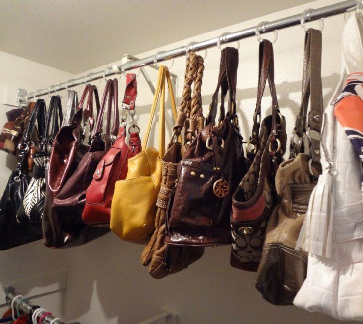 Beautiful How To Organize Pocketbooks Of Storage Ideas Handbags