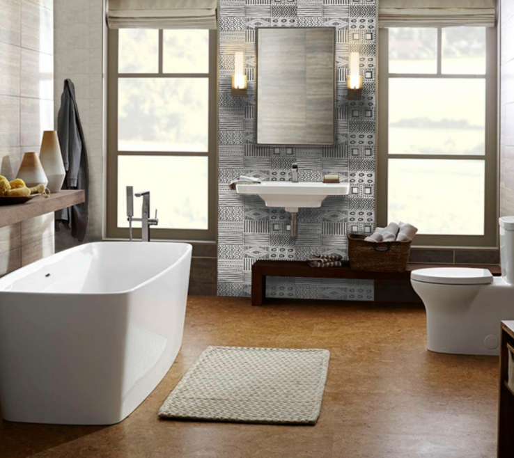 Beautiful Modern Bathroom Walls Of Wall Tile
