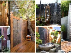 Outdoor Shower Floor Ideas