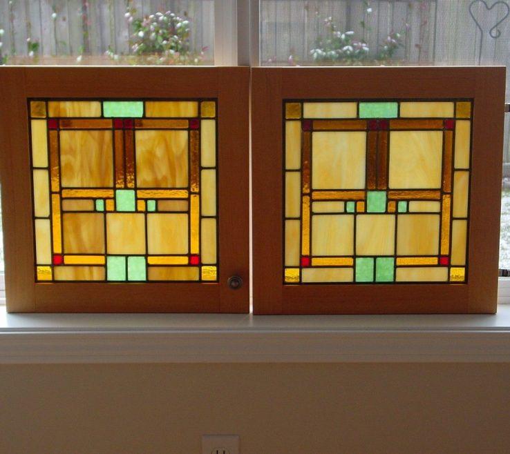 Beautiful Stained Glass Kitchen Doors Of Custom Made Custom Door Panels