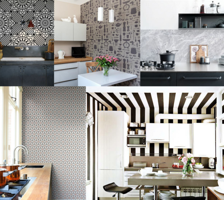 Beautiful Wallpaper Designs For Kitchen Of Ideas
