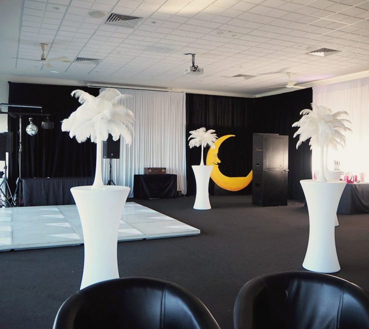 Black And White Decorating Ideas For A Party Of Theme