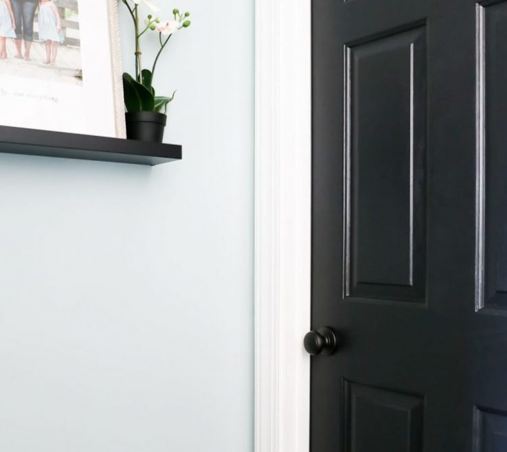 Black Interior Doors Of Love The Idea Of Painting For An
