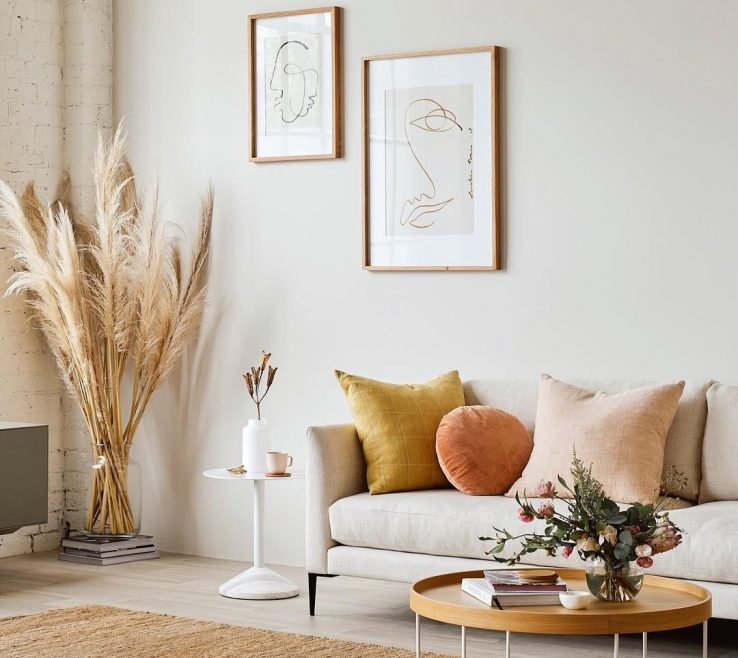 Bohemian Modern Decor Of @shophesby | Home + Lifestyle