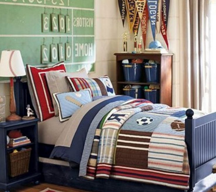 Boys Room Sports Theme Of Bedroom Cool Themed Decorating Rafael Sport Themes