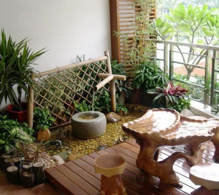 Brilliant Balcony Ideas Of The Mini Garden