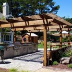 Brilliant Bbq Grill Design Ideas Of Modern Outdoor Kitchen With Bar + |