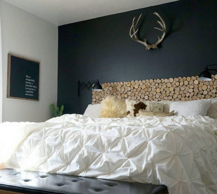 Brilliant Bed Alternatives Of Headboard Birch Slices