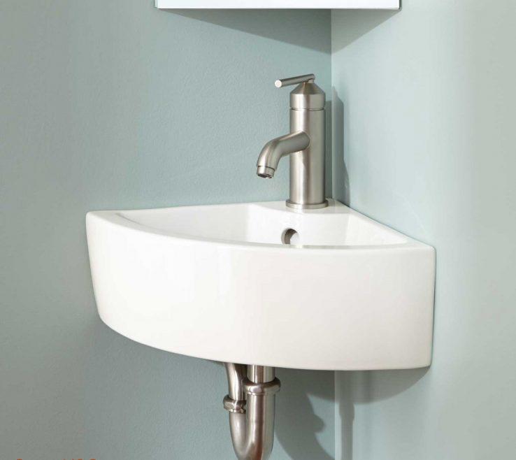 Brilliant Corner Pedestal Sinks For Small Bathrooms Of Lowes Sink Inspirational Inset Sink Sink