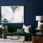 Brilliant Dark Green Living Room Of Formal Sitting Studio Mcgee