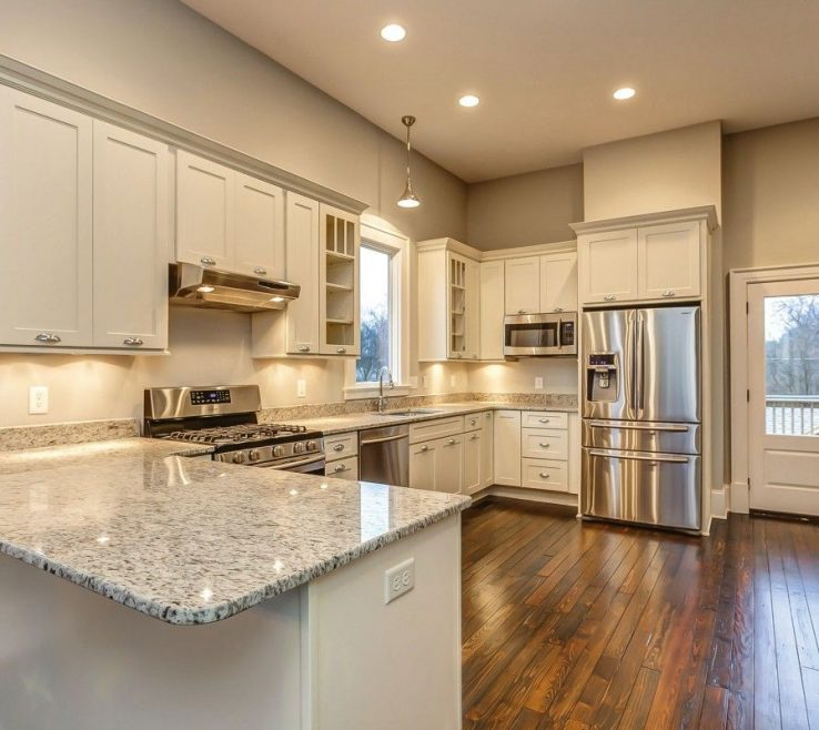 Brilliant Kitchen Peninsula With Seating Of Photo Gallery Of Remodeled Features Cliqstudios Dayton