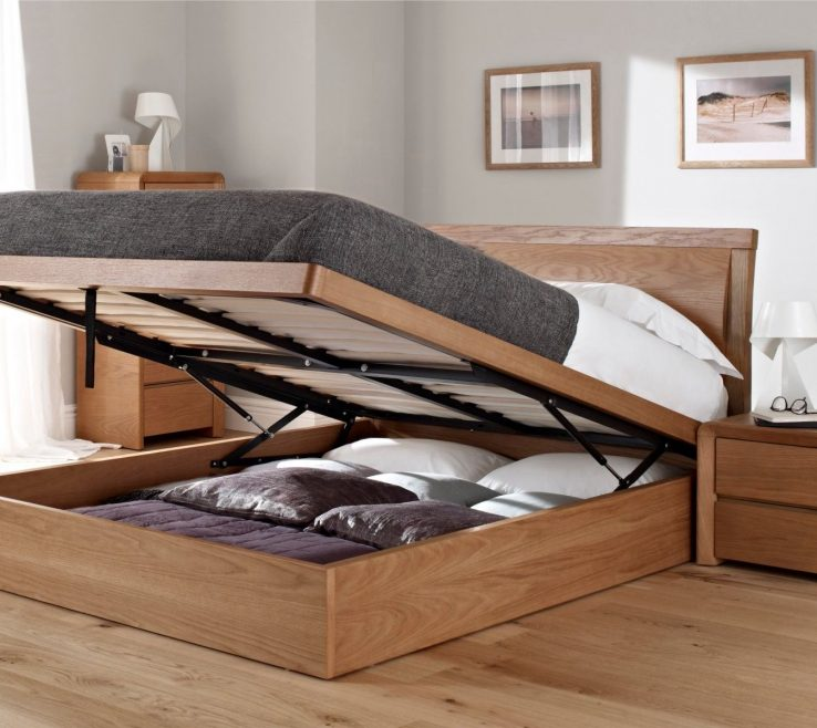 Brilliant Space Saving Storage Beds Of Prepossessing King Size Ottoman Bed New