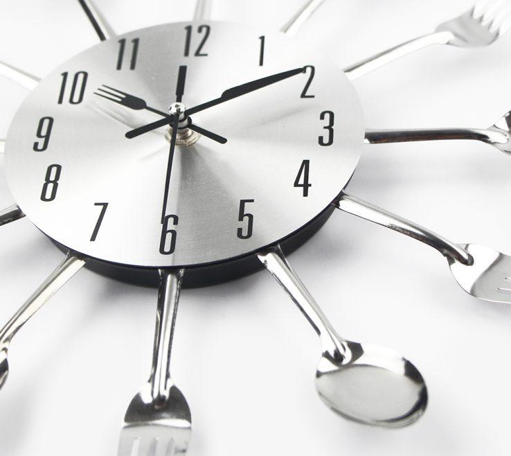 Brilliant Wall Clocks For Kitchens Of Nuova Cucina Moderna Orologio Da Parete Del