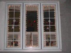 Window Sill Christmas Lights