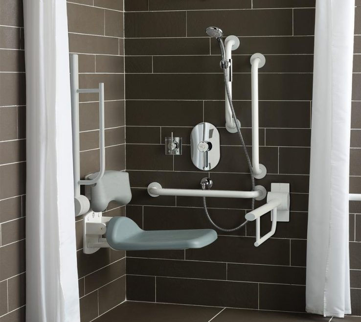 Captivating Bathrooms For Disabled Persons Of Doc M Shower Room Pack Additional