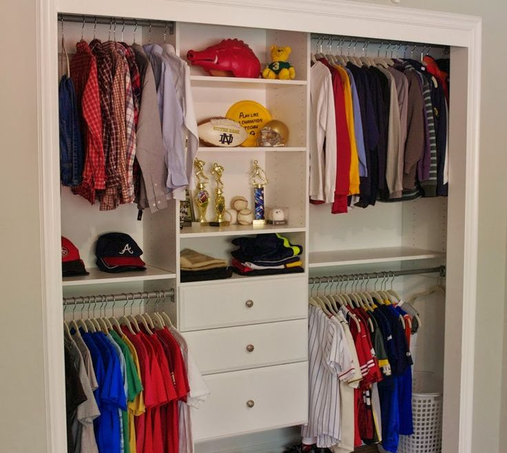 Captivating Closets Organization Ideas Of Kids Closet | Organizing Kids |